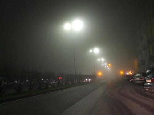 Nebbia in Val Padana
