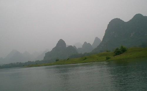 The Li River between Guilin and Yangshuo