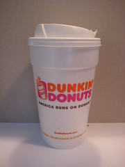 Large regular Dunkin Donuts