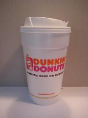 Large regular Dunkin Donuts