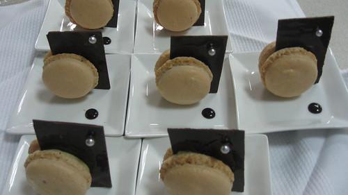 Pascal Cherance's Petit Fours: macaron con aceite de oliva