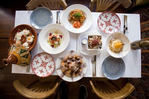 Kasbah breakfast feast