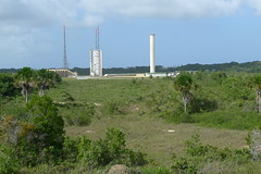 Ariane launch pad