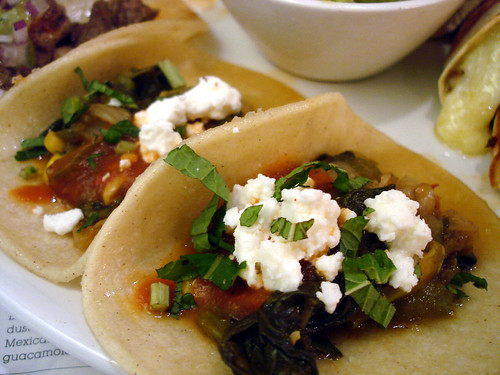 Spinach Tacos