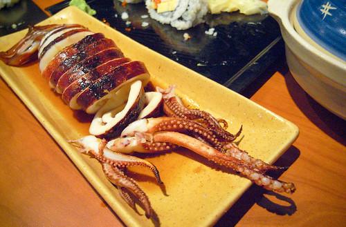 Sushi Hachi - BBQ  Whole Squid