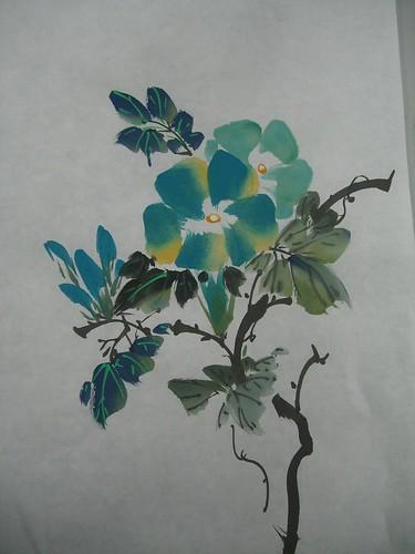 蔡老師_國畫花系列4