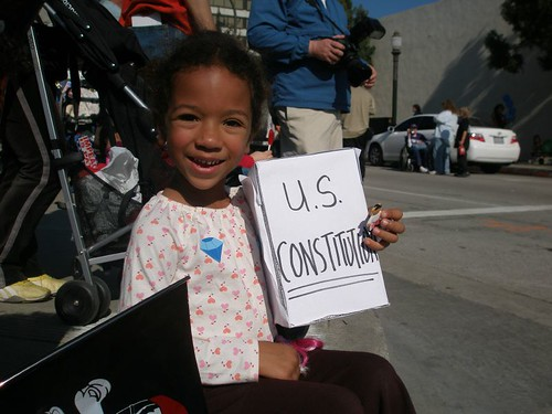 My kid promised to defend the Constitution