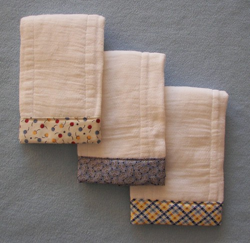 Burp cloths-Erin's