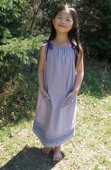 Olivia in the Pillowcase Dress for Little Dresses for Africa