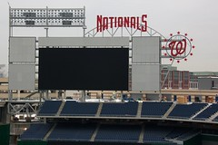 Nationals Park Scoreboard