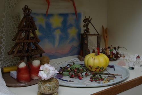 季節のテーブル
