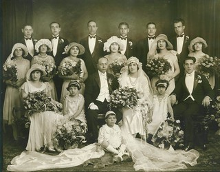 Italian Family Wedding 1927 1928 20s NYC