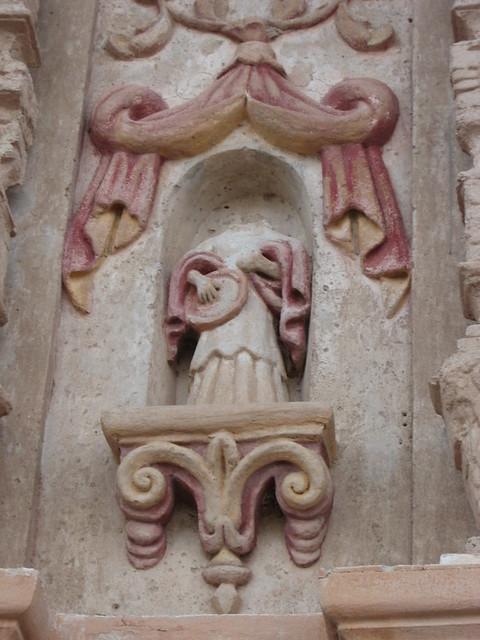 san xavier headless angel