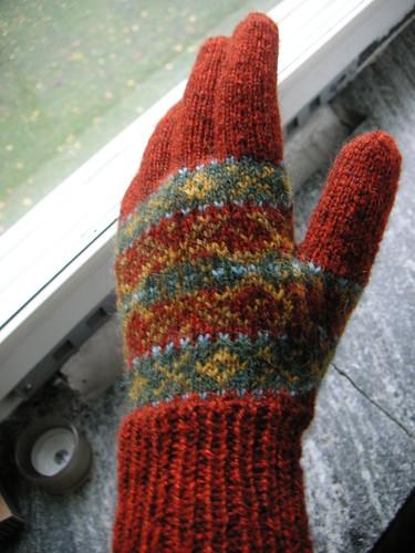 my first autumn forest glove