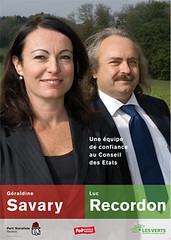 Affiche Savary Recordon