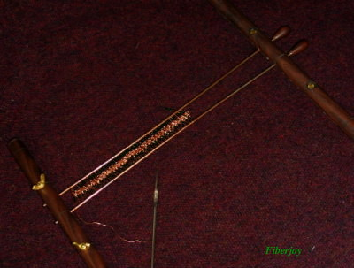 Jenkins Walnut Hairpin Lace Loom