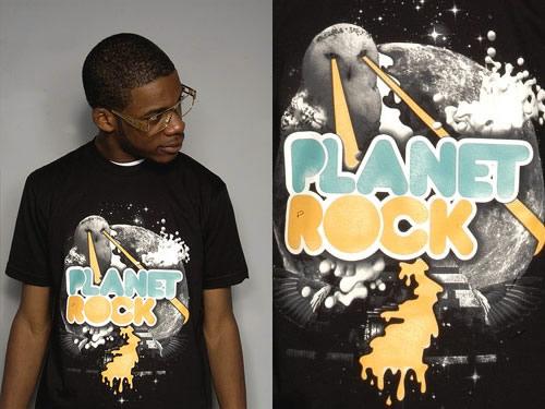 Planet Rock T-Shirt / Brooklyn Sky