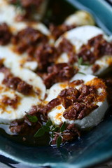 Olive-Marinated Goat Cheese 5