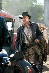 Harrison Ford como Indiana Jones - Clique para baixar esta foto em alta resolução.