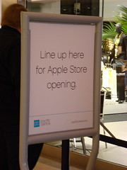 Apple Store Opening Vancouver
