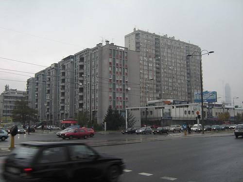 Blocuri comuniste in Sarajevo