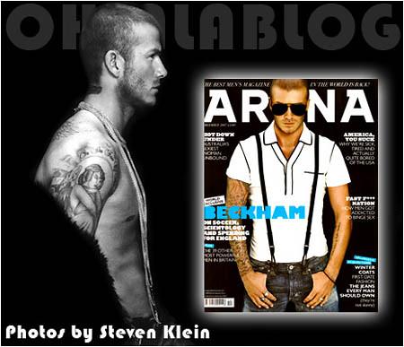 david beckham-steven klein-arena magazine