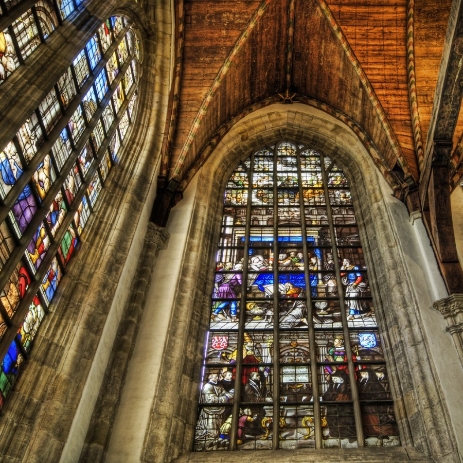 A Colorful Corner of Oude Kerk