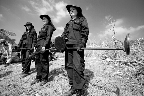 MAG (Mines Advisory Group) Laos All-female Team