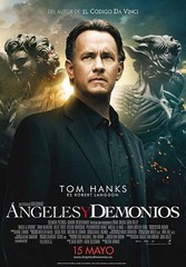 Ángeles y demonios- cartel
