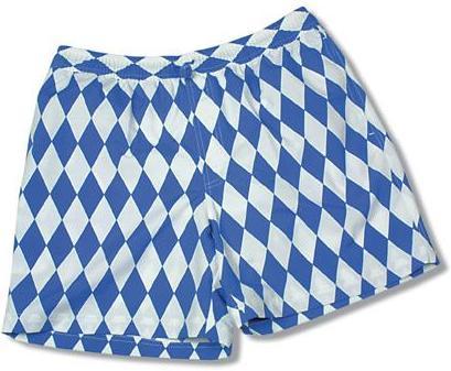 CSU Badehose Bayern Flagge Fahne Bikini Blau Weiss bayerisch bayrische