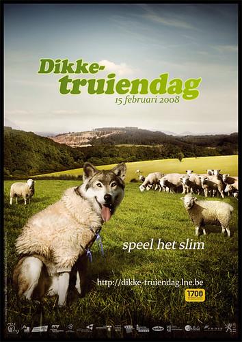 Affiche Dikke-truiendag 2008