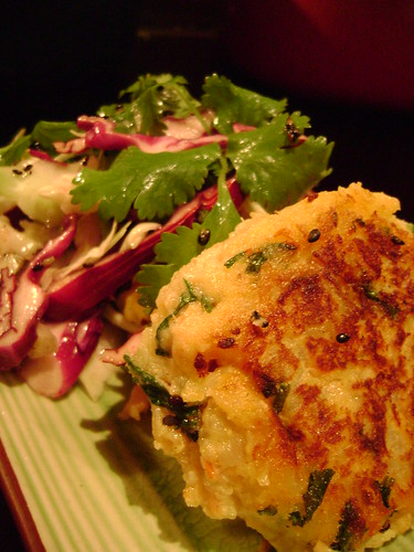 Salmon Fishcakes with Asian Slaw