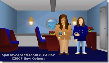 Sparrow's Stateroom 2, 23 Nov ©2007 New Codgers
