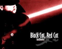 Black Cat, Red Cat hardboiled wallpaper 2
