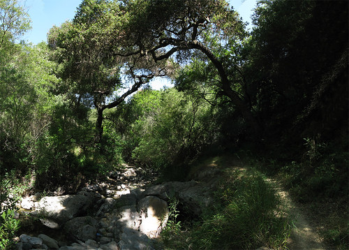 Santa Ynez Trail Photomerge