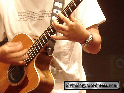 A Yue's guitar