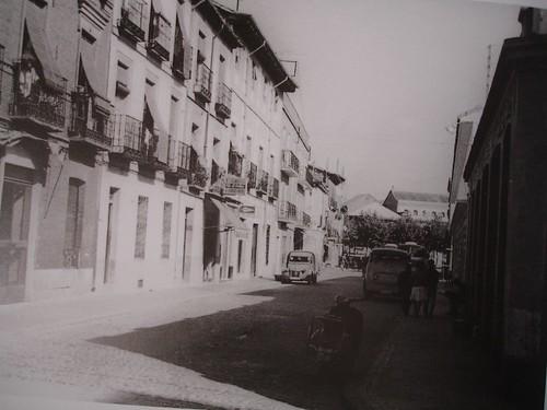 Calle Cerrajeros en 1963