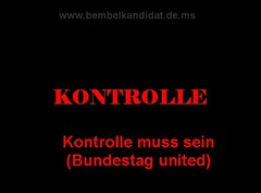 Cover: Kontrolle muss sein