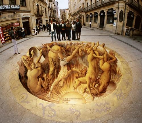 Phaeton in Salamanca by streetpainter.