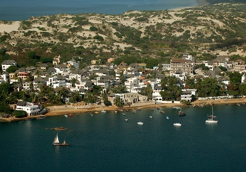 Lamu, Kenya, 2008. Photo: Cessna 206