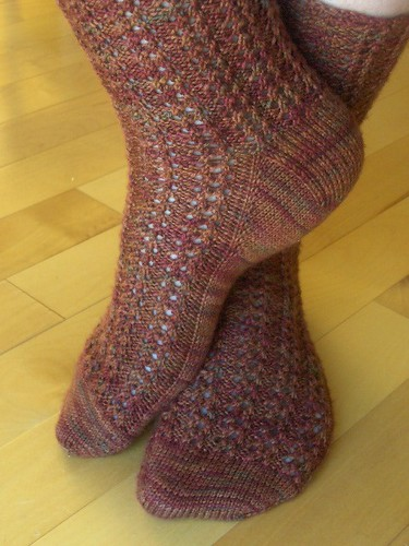 Healthy Spine Toe-up Socks