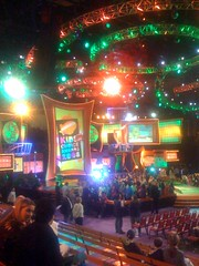 Waiting for kids choice awards to begin