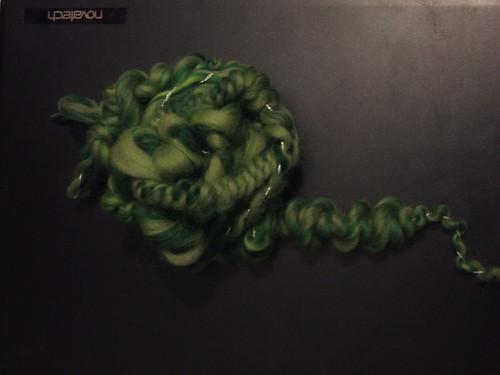 Green Brainwave Sketch