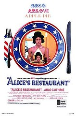 Alice's Restaurant movie poster starring Arlo ...
