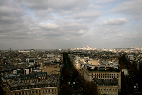 Looking across to Sacré Couer