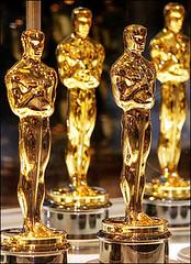 Estatuillas doradas de los Oscars