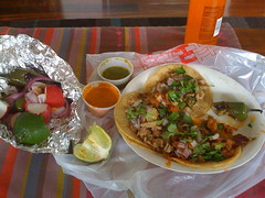 Tacos at Taqueria 16th de Septembre
