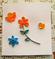 Thing 14. Quilled picture