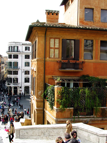 Terrace Next to Spanish Steps