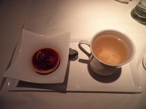 櫻桃派+甘菊茶
